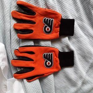 Philadelphia flyers  gloves